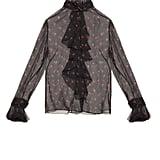 Alexander McQueen Rose Bud printed-silk blouse ($2,085)