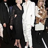 Tilda Swinton partied with friends at the MOCA Gala.