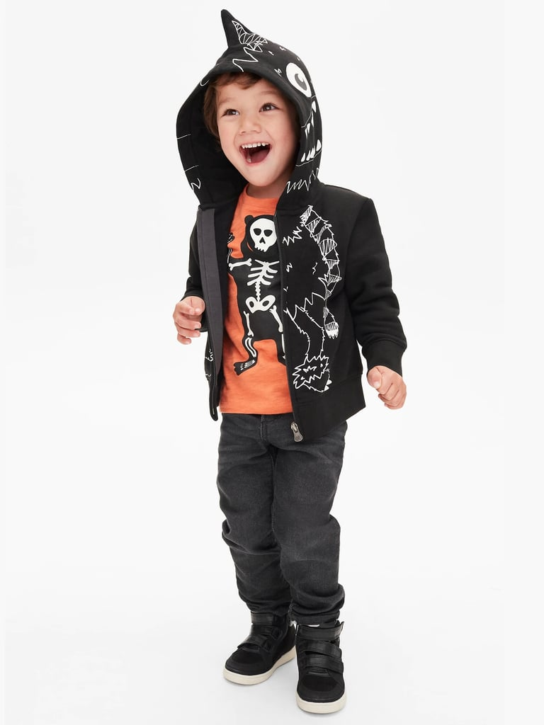 gap 3d tee and hoodie | halloween clothes for kids 2018 | popsugar