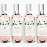 ClearyLane Wedding Milestone Wine Labels ($25)