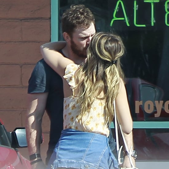 Chris Pratt and Katherine Schwarzenegger Kissing July 2018
