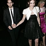 Emmy Rossum and Justin Siegel