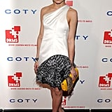 In a statement-making Prabal Gurung confection at DKMS' Fourth Annual Gala in April 2010.