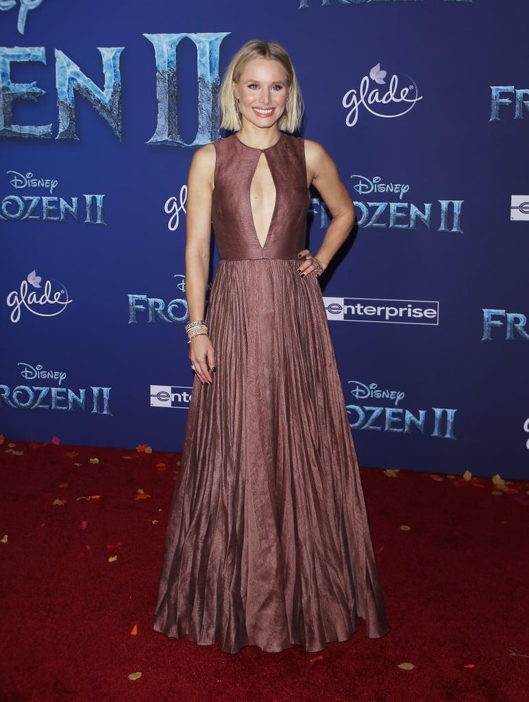 Kristen Bell at the Frozen 2 Premiere in Los Angeles