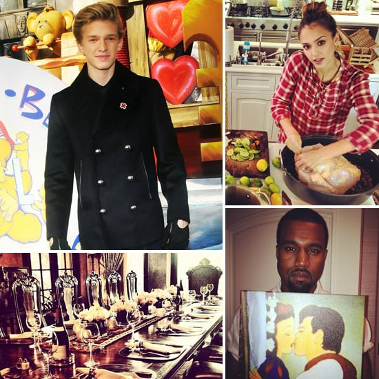 How Cody Simpson, Jess Alba, Kanye West & More Celebrated Thanksgiving