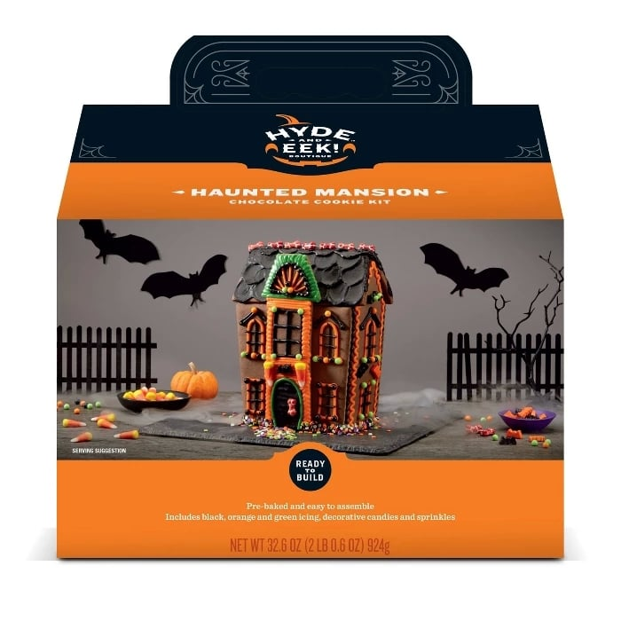 Halloween Haunted Manor Chocolate Cookie Kit