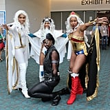 Storm(s) and Wonder Woman