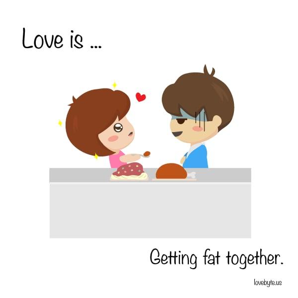 Cute Love Comics by LoveByte | POPSUGAR Love & Sex Photo 1