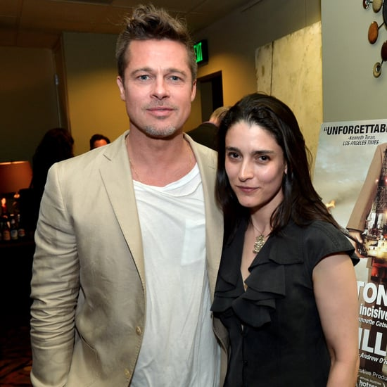 Brad Pitt at the Big Men Screening in LA