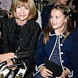 Anna Wintour and Lillian Luhrmann.