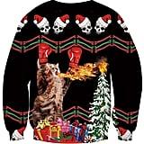 Idgreatim Ugly Christmas Crewneck Sweatshirt