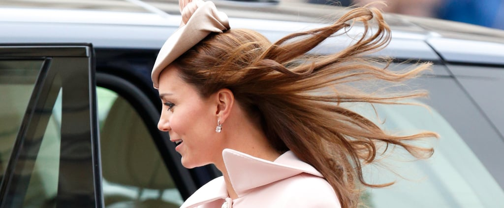 9 Times Kate Middleton's Outfit Was No Match For a Gust of Wind