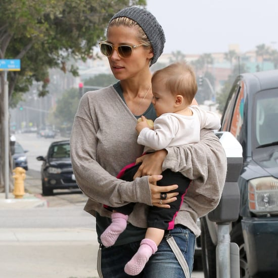 Chris Hemsworth and Elsa Pataky With India in LA | Pictures