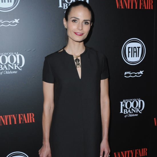 Jordana Brewster Black Dress Young Hollywood Party 2016