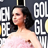 Sofia Carson Giambattista Valli Gown at Golden Globes 2020