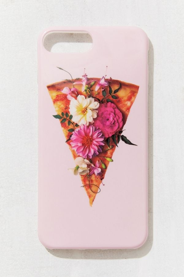 Recover X Paul Fuentes Flower Power Pizza iPhone Case
