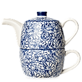 A Novel Idea Blue Leaf Tea For One