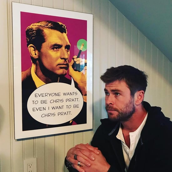 Chris Hemsworth Wants to Be Chris Pratt Instagram Photo
