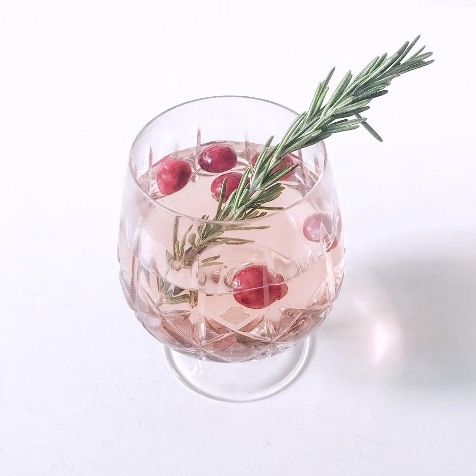 Rosé Gin Cocktail