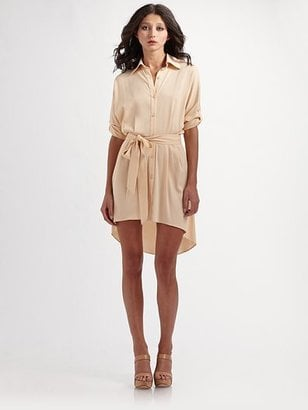 Alice + Olivia Elyse Dolman-Sleeve Shirtdress ($330)
