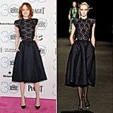 Emma Stone, 8 Days After Runway