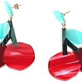 Edie Parker Cherry Bomb Earrings