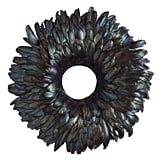 Black Feathers Wreath
