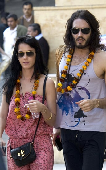 Katy and Russell enjoying their trip to India