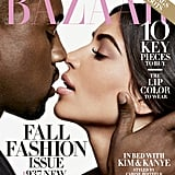 """Kim on making her mark: """"I'd like to be remembered as someone who was smart in business, works hard, and can be sexy and a mom. A powerful but still sexy, nonconforming woman. And I would hope that Kanye would be remembered for being smart and sticking to what he believes."""" Kim on her biggest insecurity: """"I would say looking fat sometimes. I really do take it seriously. I try to do what I can and diet and stay in shape, and it does make me insecure when I'm heavy."""" Kanye on his favorite Taylor Swift song: """"I don't have one."""""""