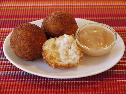 Potato Turkey Balls