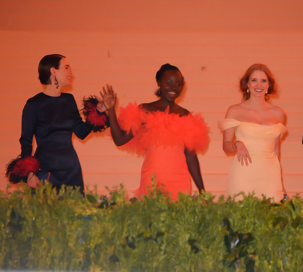 Pictured: Sarah Paulson, Lupita Nyong'o, and Jessica Chastain