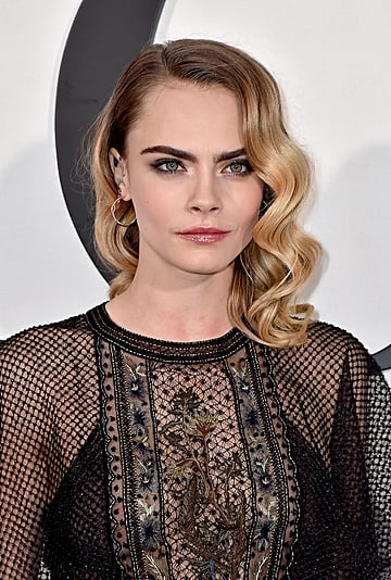 Cara Delevingne Dyed Her Hair Brown and Got a Shag Haircut
