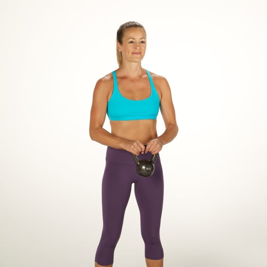 How to Do a Kettlebell Orbit Core Exercise