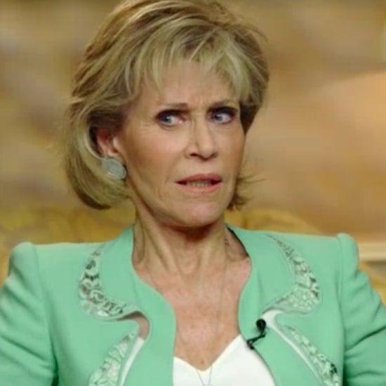 Jane Fonda Talks About Megyn Kelly Interview