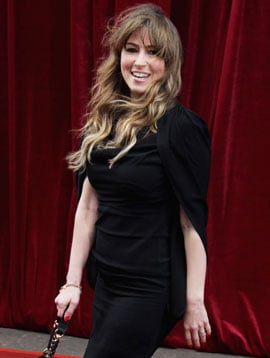 Rachel Stevens Pregnant Pictures, with her First Child with Husband Alex Bourne