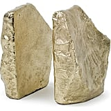 Regina-Andrew Design Gold-Tone Aluminum Bookends ($109)