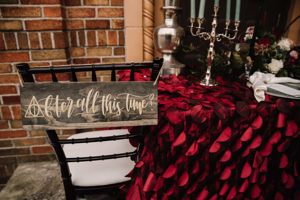 Elegant Harry Potter-Themed Wedding Ideas