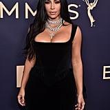 Kim Kardashian at the 2019 Emmys