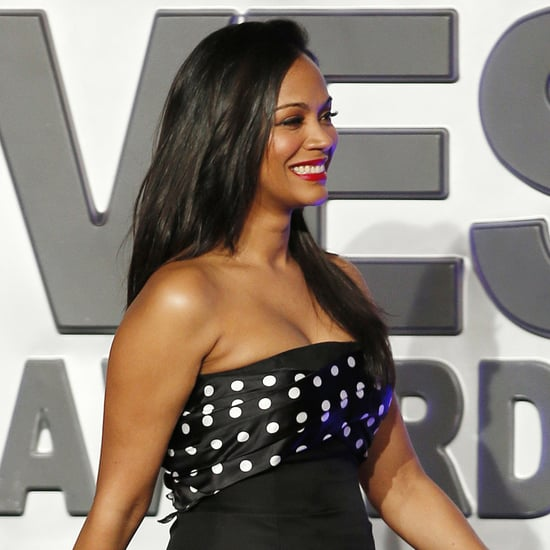 Zoe Saldana After Giving Birth to Twins | Pictures