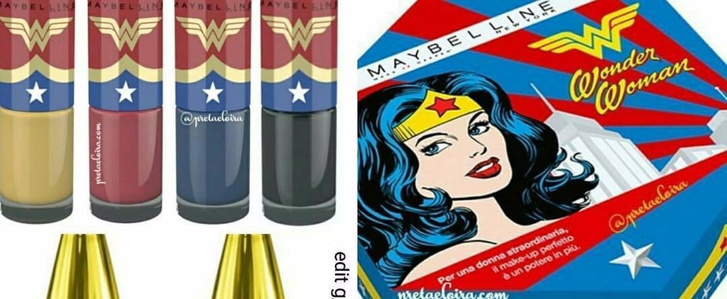 Is Maybelline Launching a Wonder Woman Makeup Collection?