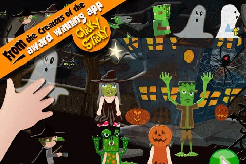 ClickySticky Halloween Sticker Book