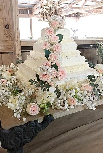 DIY Costco Wedding Cake Hack