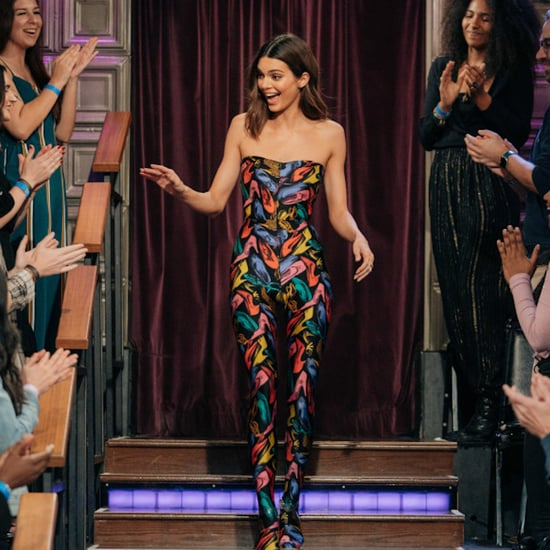 Kendall Jenner Wore a Vintage Jumpsuit on The Late Late Show