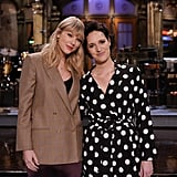 Taylor Swift Poses With SNL Host Phoebe Waller-Bridge