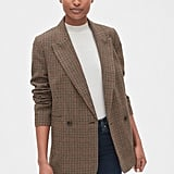 Gap Classic Houndstooth Girlfriend Blazer