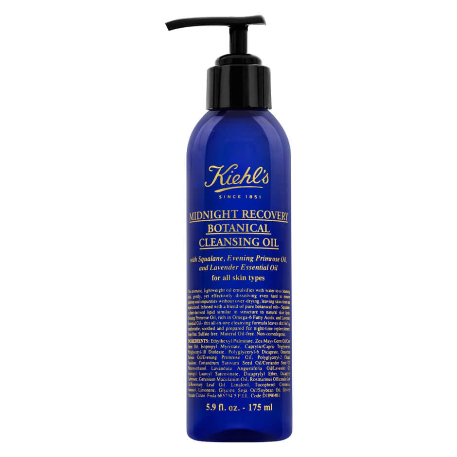 Cleansing Face Oils: Kiehl's Midnight Recovery Botanical Cleansing Oil