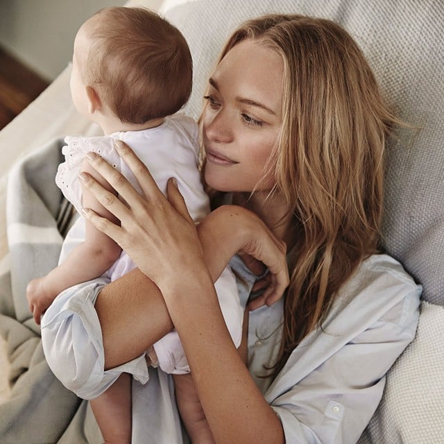 Gemma Ward — and Her Baby Naia! — Star in New Country Road Campaign