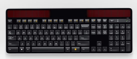 Solar-Powered Keyboard