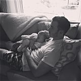 Danielle Jonas captured this tender cuddle session between Kevin and Alena.