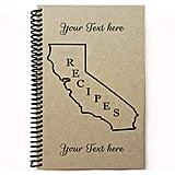 State Map Recipe Book